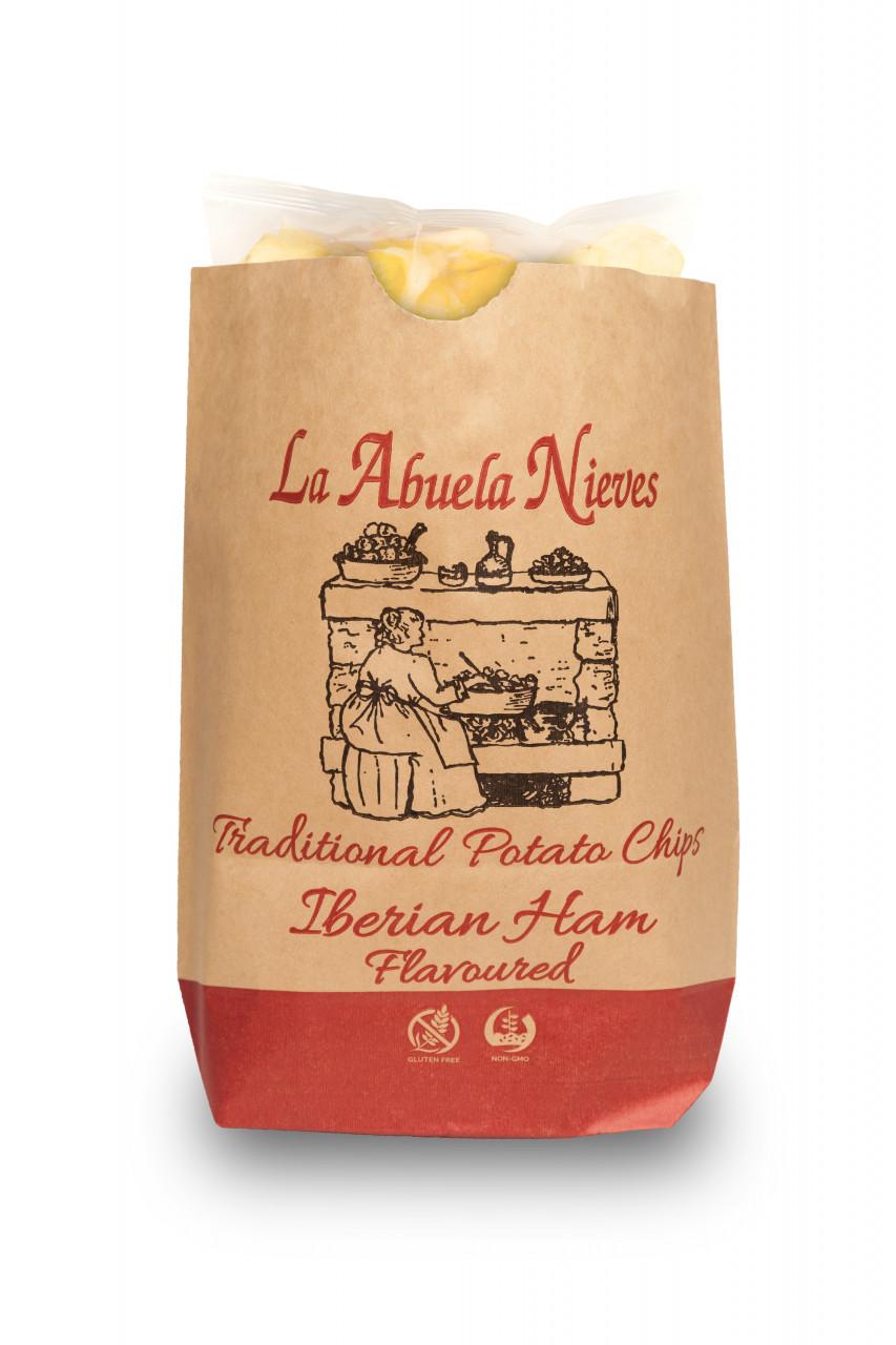La Abuela Nieves Chips jamón ibérico 150g
