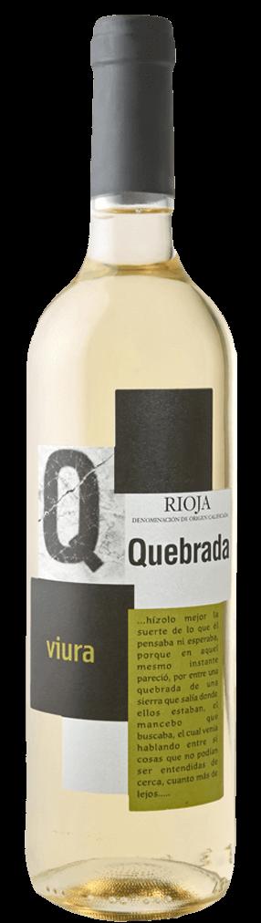 Quebrada Viura Blanco Flasche