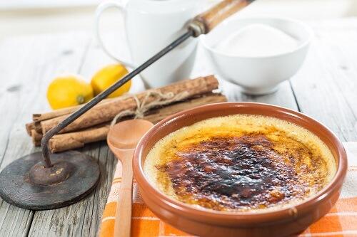 spanische süßigkeiten crema catalan