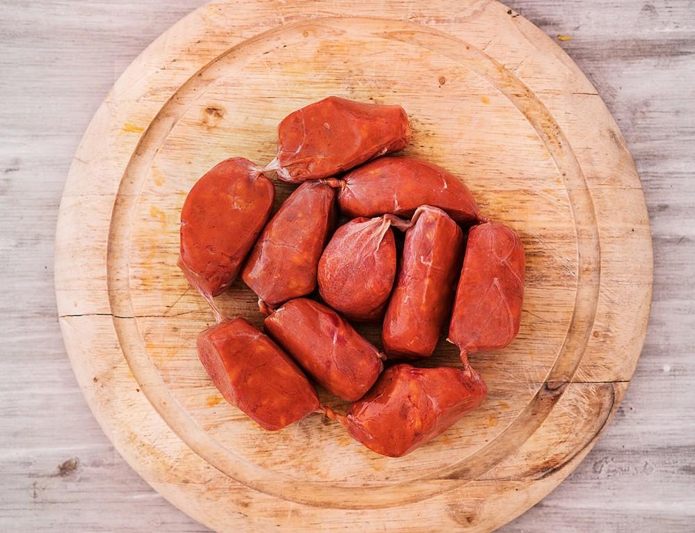 Chorizo Picante Barbacoa zum Grillen