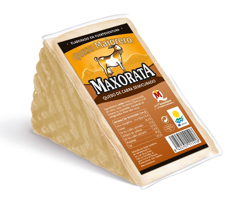 Maxorata - Halbgereifter kanarischer Ziegenkäse Natur
