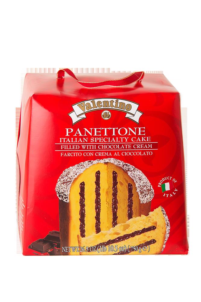 Panettone mit Schokoladen Creme