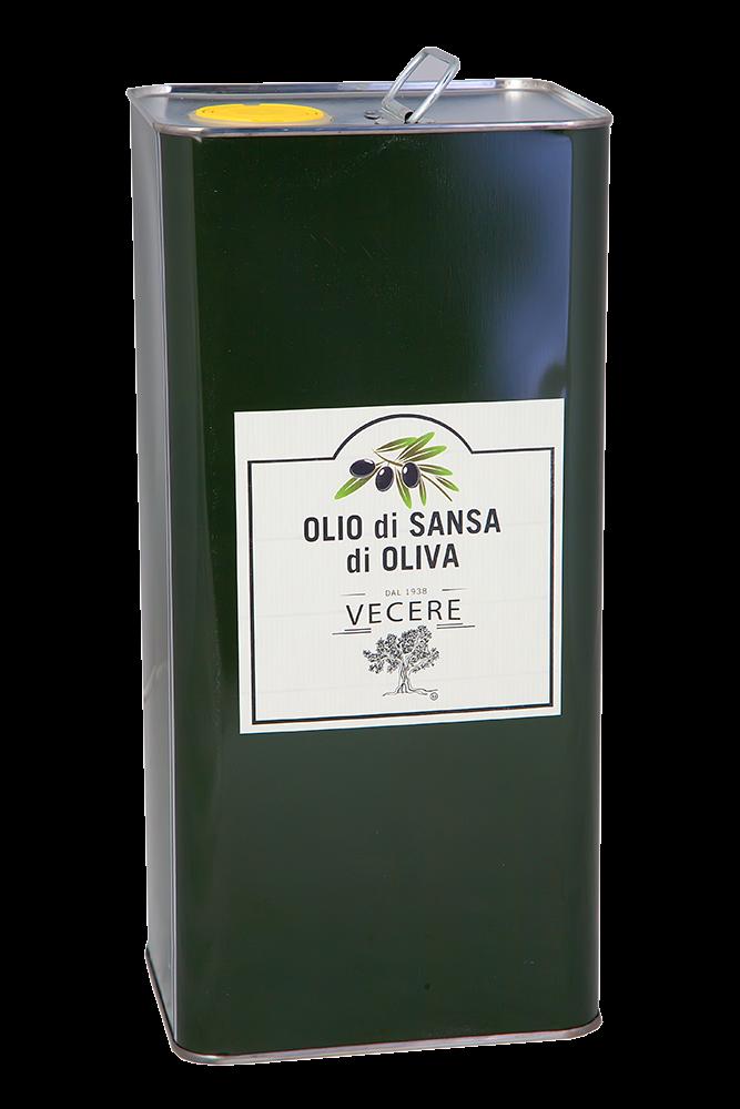 Vecere Olio di Sansa di Oliva 5lt