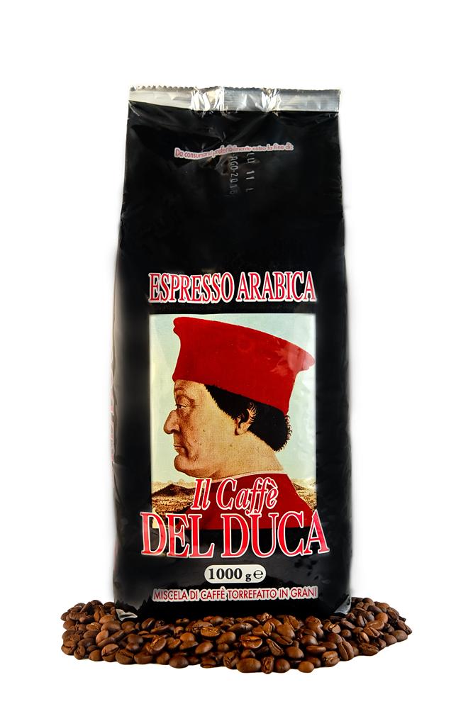 Del Duca Espresso Arabica Bohnen