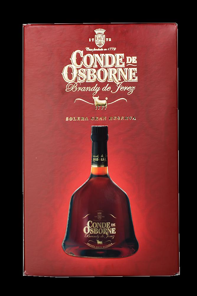 Brandy Conde de Osborne Cristal Solera Gran Reserva