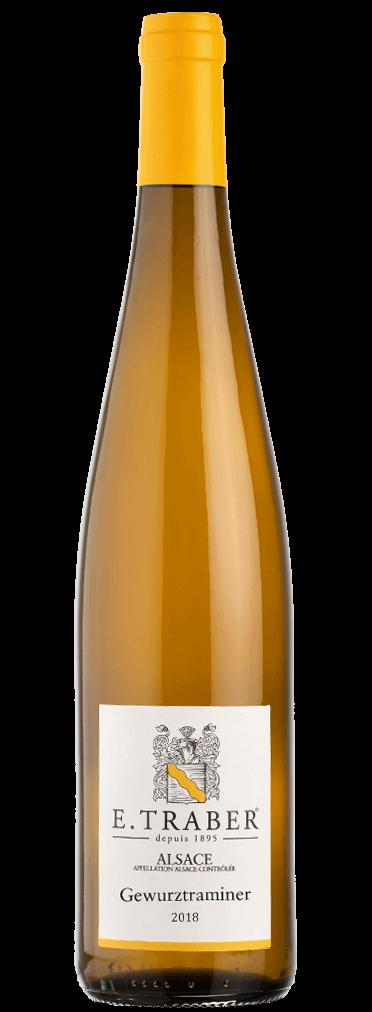 E. Traber Gewürztraminer Flasche