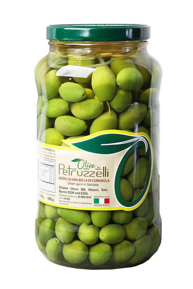 Petruzzelli Olive Bella di Cerignola Verde