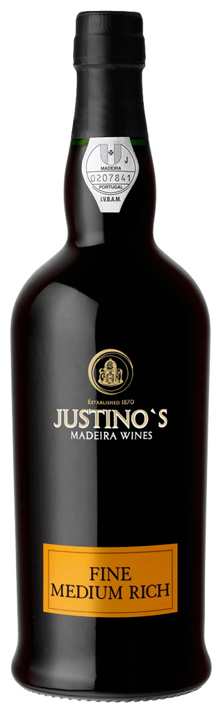 Justino's Madeira Medium Rich 3 Years Flasche