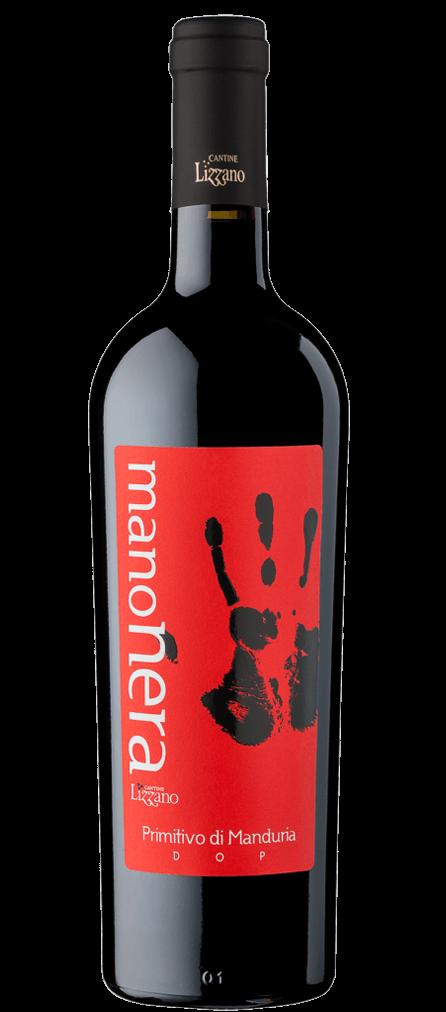 Cantine Lizzano Manonera Primitivo di Manduria Flasche