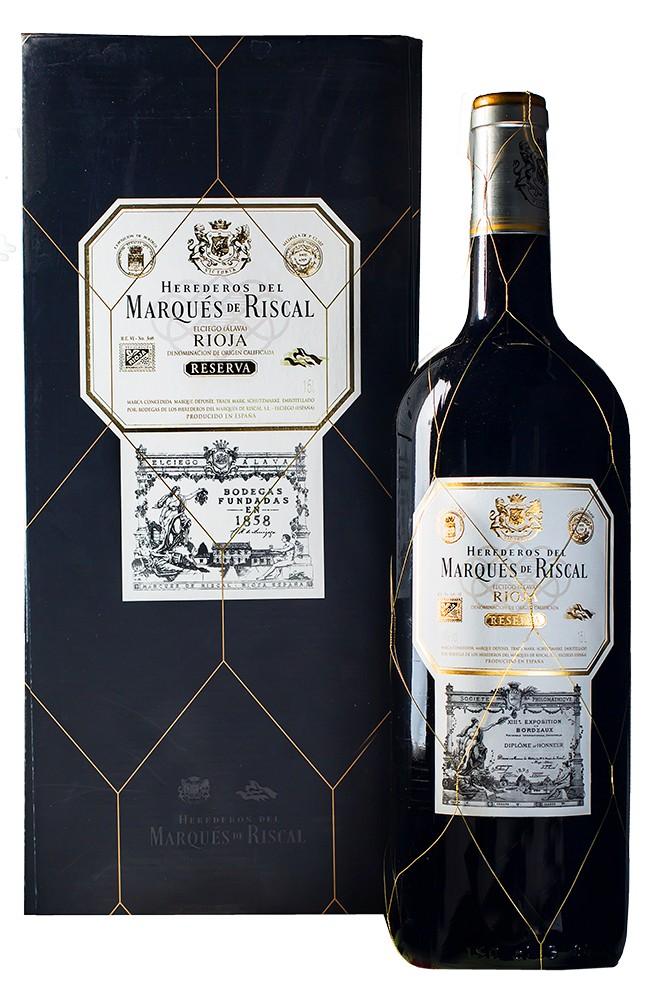 Geschenkverpackung Marqués de Riscal tinto Reserva