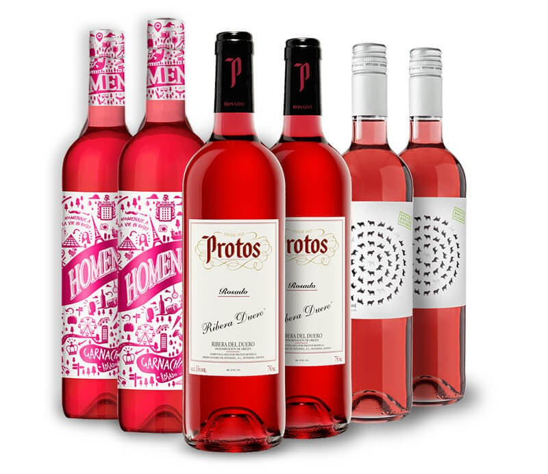 Rose Favoriten Weinpaket aus Spanien