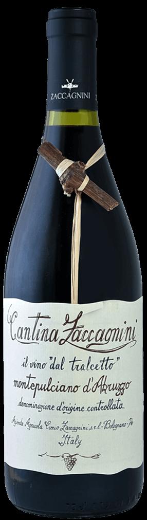 Zaccagnini Montepulciano d Abruzzo Rosso Flasche