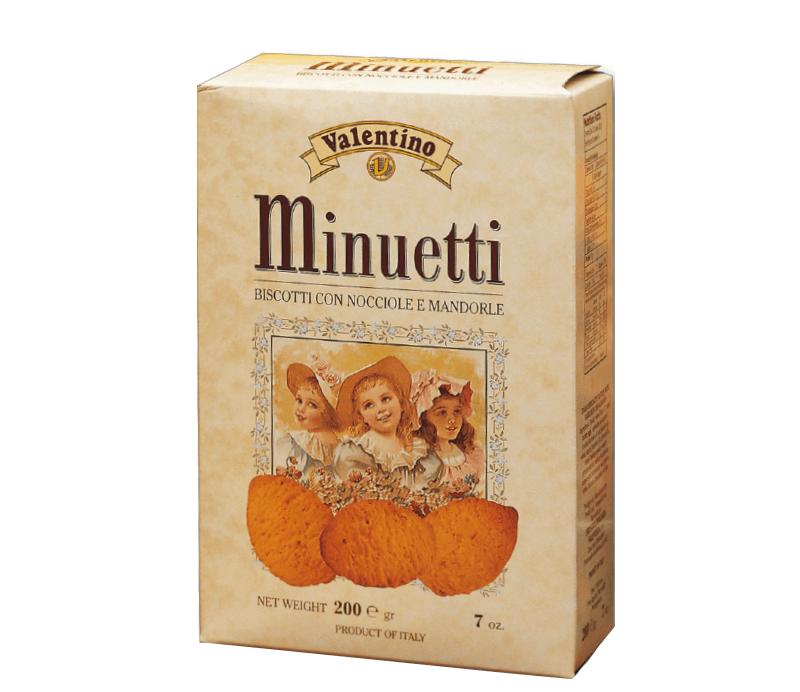 Minuetti Mandorle-Nocciole mit Mandeln & Haselnuss