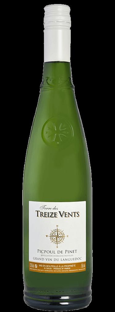 Domaine des Lauriers Terre des Treize Vents Picpoul de Pinet Flasche