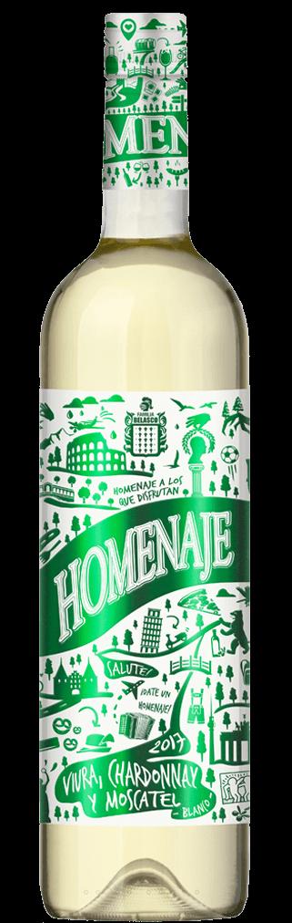 Homenaje Blanco Flasche