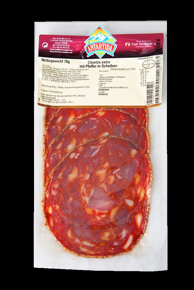 Antartida Chorizo con Pimenta in Scheiben