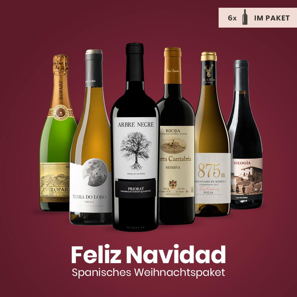 Feliz Navidad Weinpaket