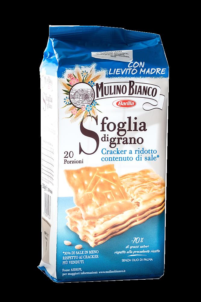 Barilla gesalzene Cracker Mulino Bianco 500g
