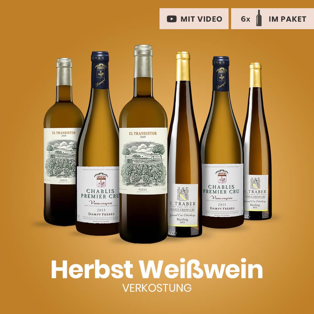 Herbstlicher Weißwein Verkostungspaket
