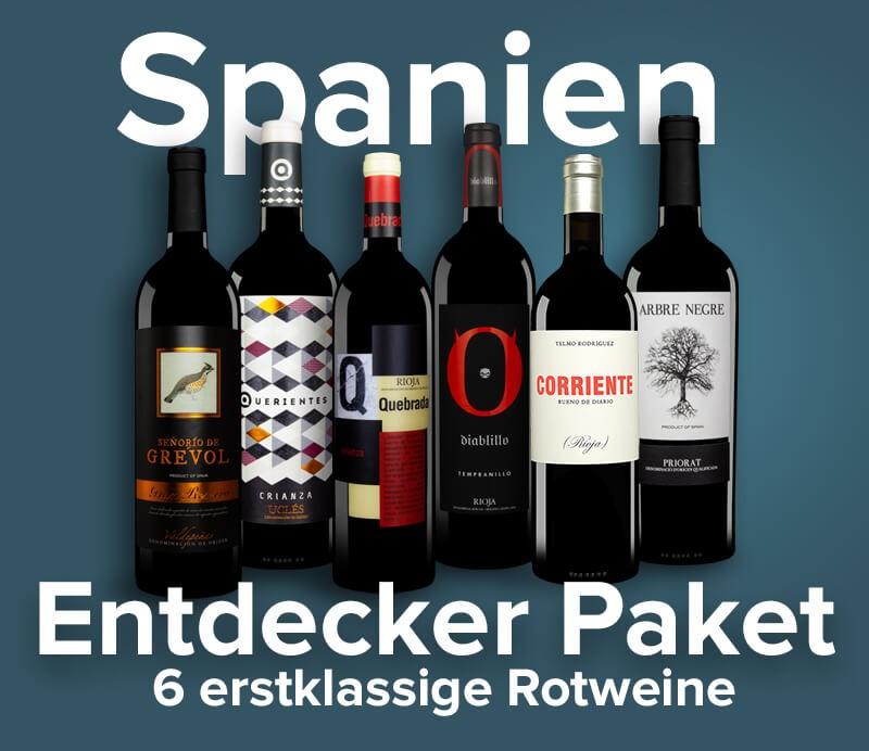 Wein Entdecker-Paket Spanien Set