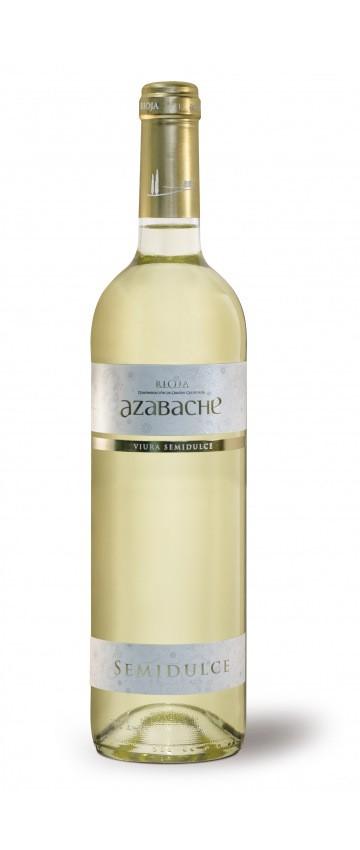 Azabache blanco Viura - halbsüß - 0,75l