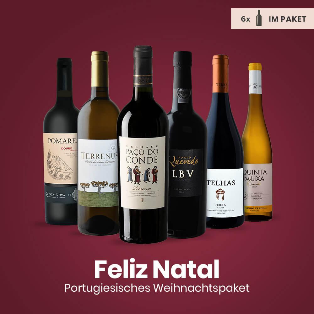 Feliz Natal Weinpaket