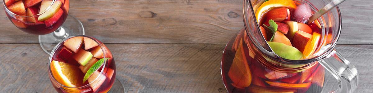 Spanischer Sangriawein