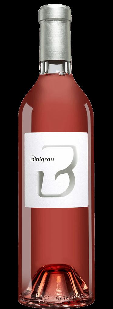 Binigrau Rosat Flasche