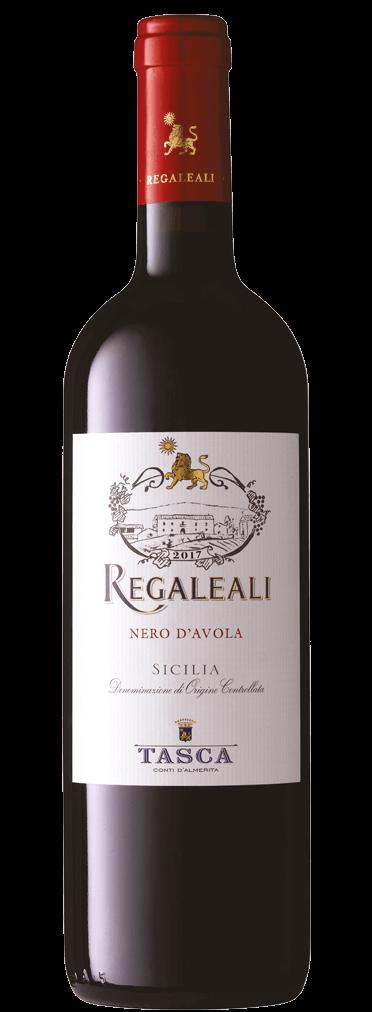 Tasca d'Almerita Regaleali Nero d'Avola Flasche