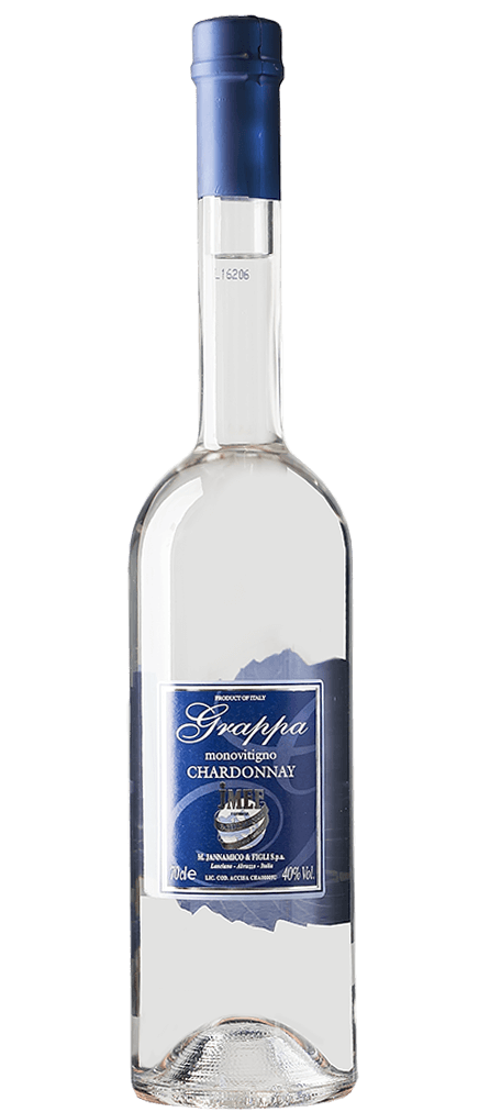 Jannamico Grappa Chardonnay Flasche