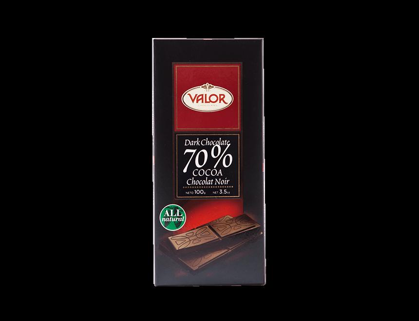 Valor Dunkle Schokolade