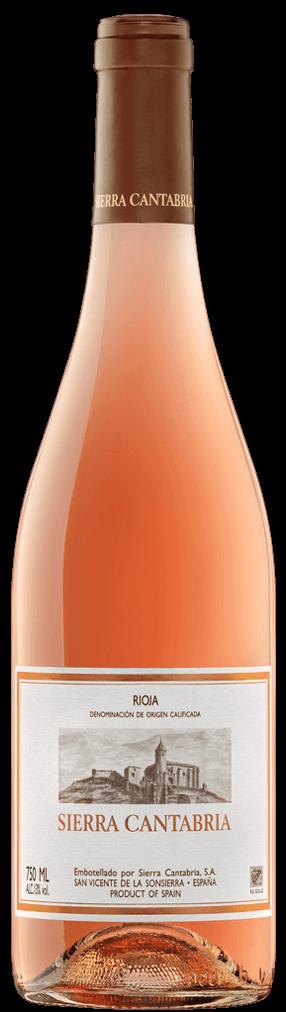 Sierra Cantabria Rosado Flasche