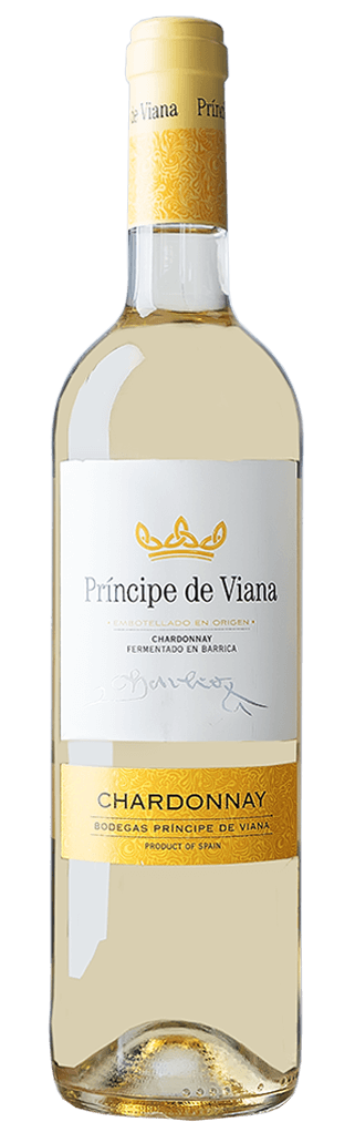 Príncipe de Viana Chardonnay Barrique DO Flasche