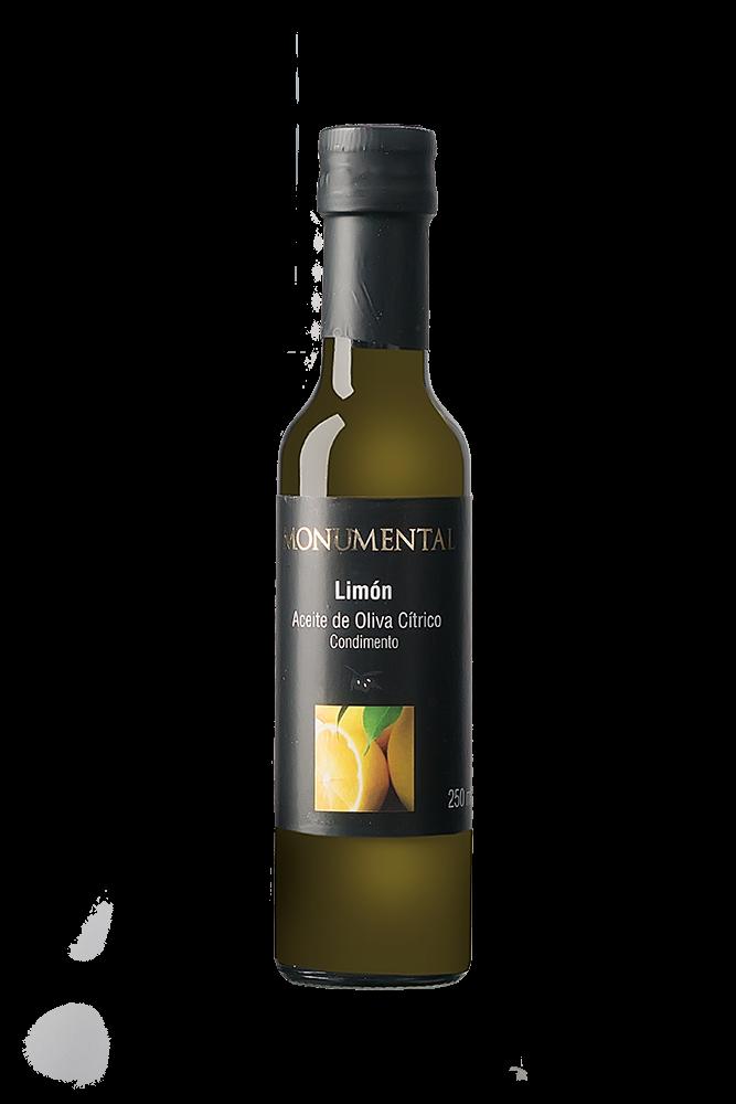 Monumental Olivenöl mit Zitrone