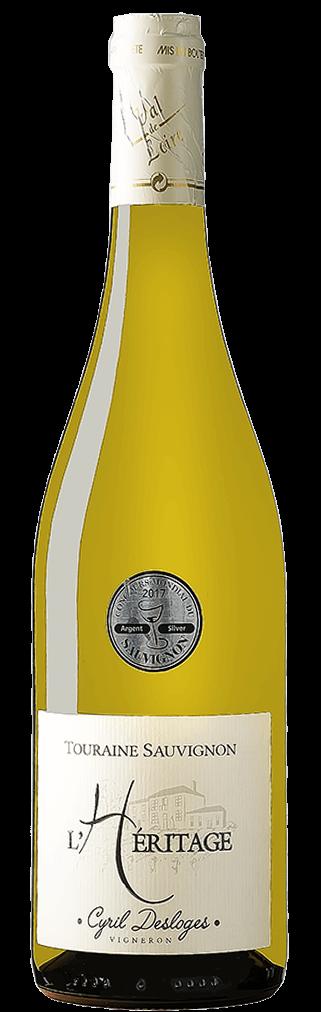 Domaine Desloges Cyril L'Héritage Touraine Sauvignon Flasche