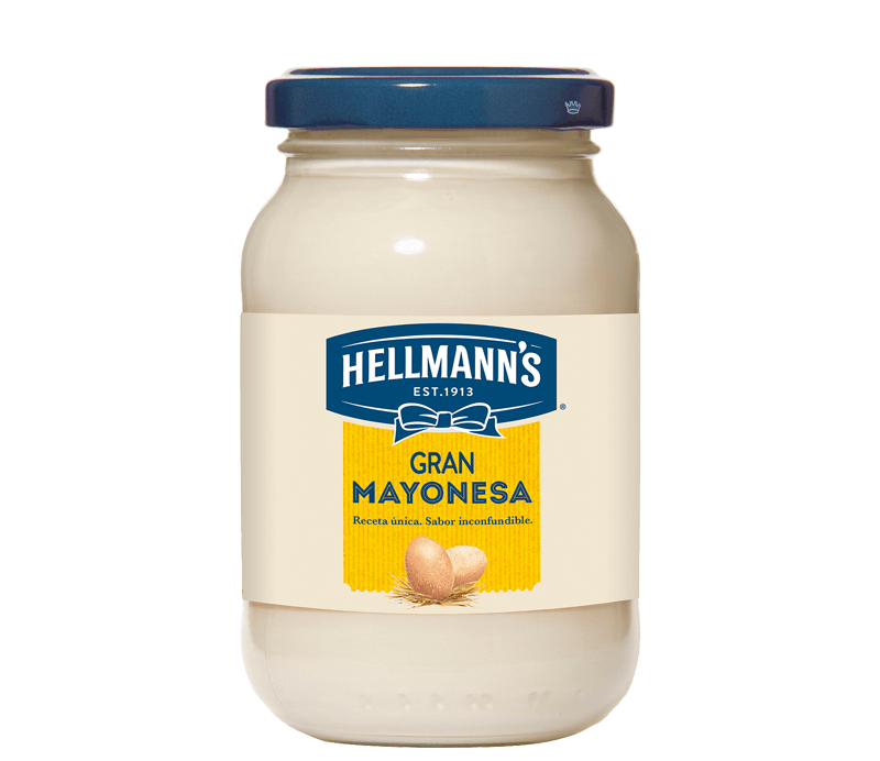 Hellmann's Gran Mayonesa Glas