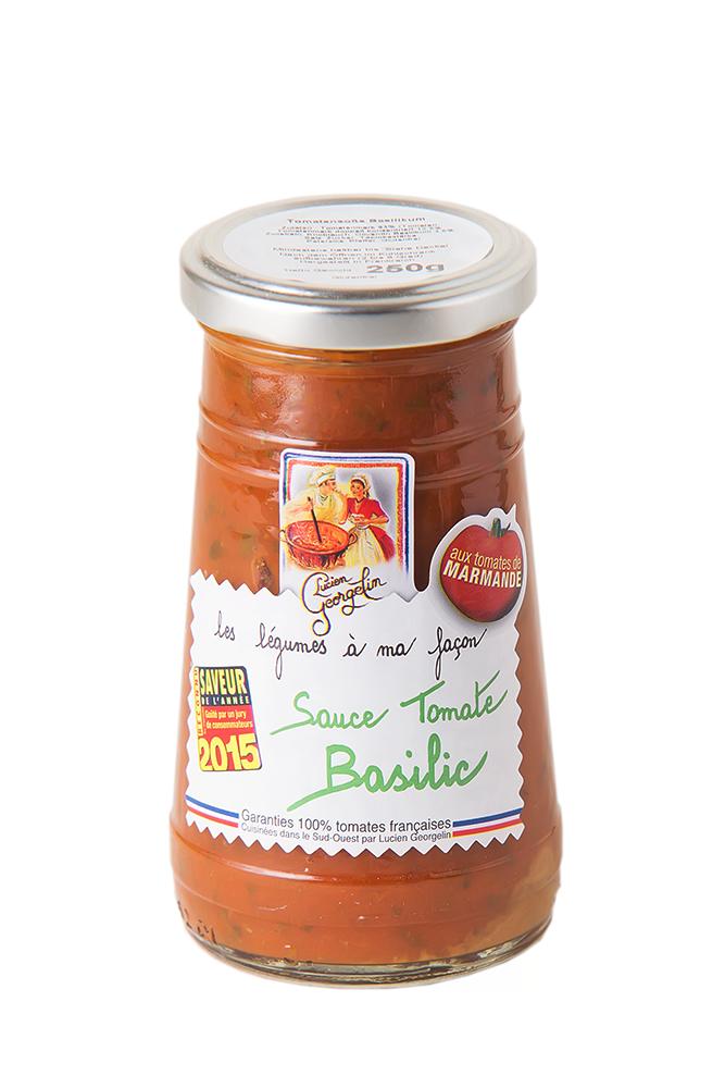 Tomaten Sauce mit Basilikum