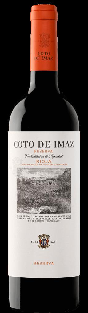 El Coto de Imaz Reserva 2013 Flasche
