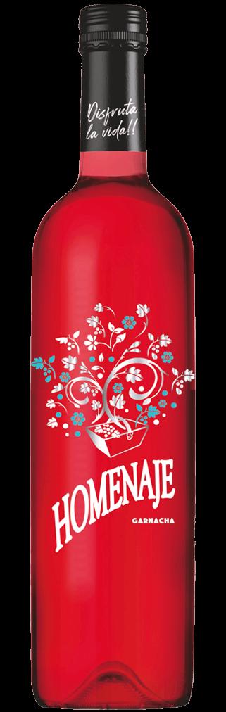 Homenaje Garnacha Rosado Flasche