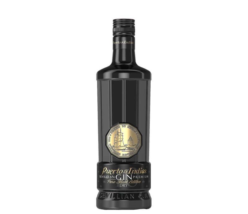 Puerto De Indias Sevillian Premium Gin Pure Black Edition