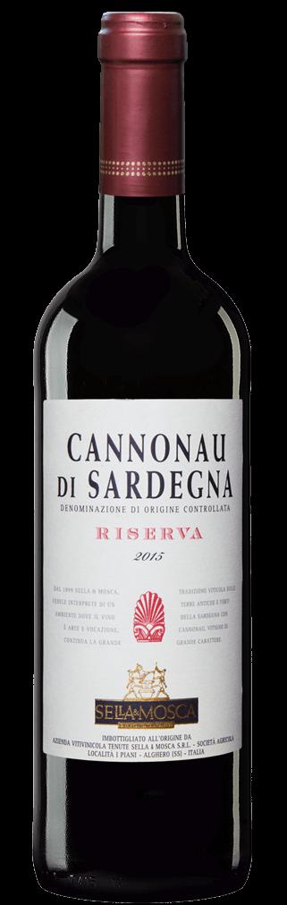 Cannonau di Sardegna Riserva Flasche
