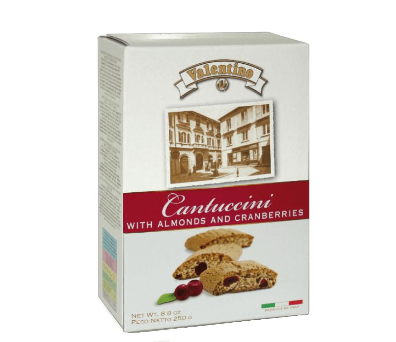 Cantuccini Mirtillo mit Preiselbeeren