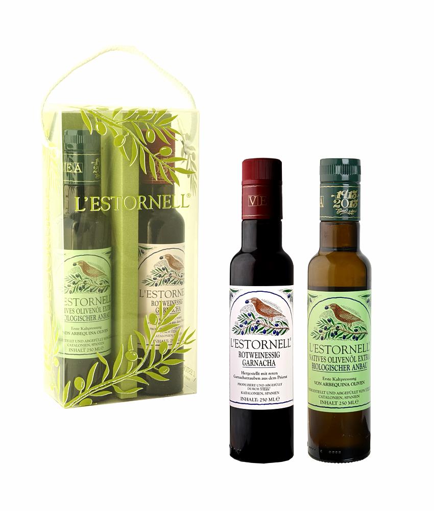 Olivenöl & Rotweinessig