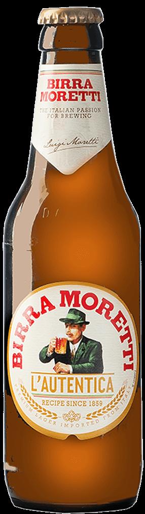 Birra Moretti Flasche