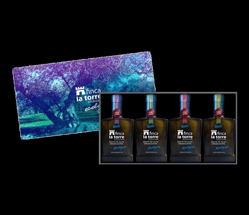 Finca la Torre Geschenkverpackung Olivenöl Verpackung