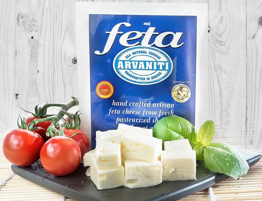 Arvaniti Feta Käse 150g Verpackung