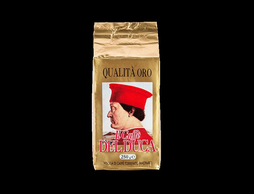 Del Duca Espresso gemahlen