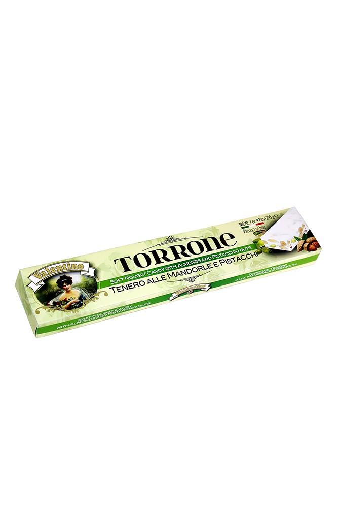 Torrone mit Mandeln & Pistazien