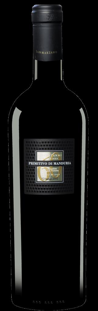San Marzano Sessantanni Primitivo di Manduria Flasche