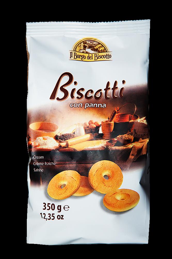 Il Borgo del Biscotto - Kekse mit Sahne